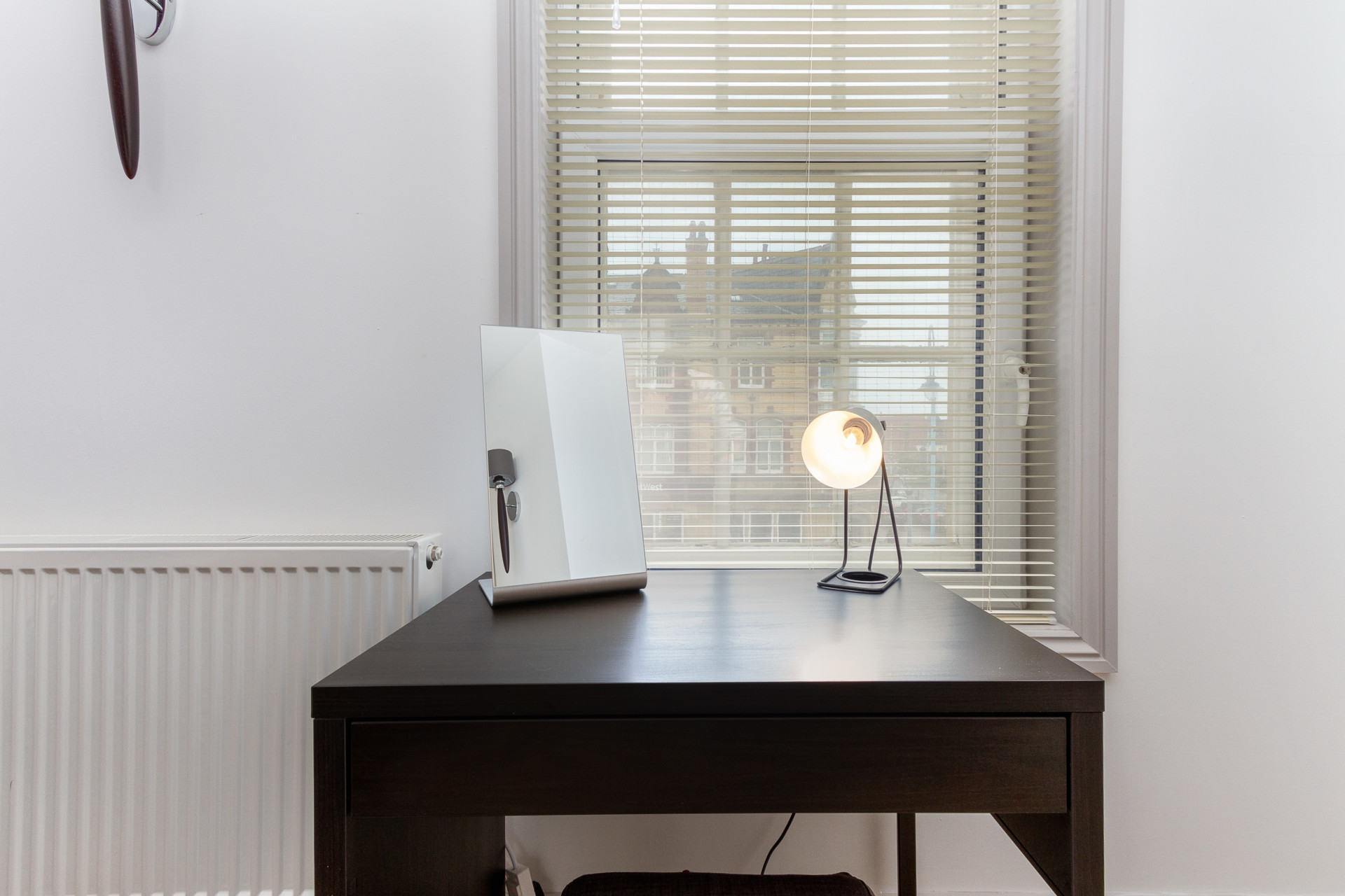 Dressing table and laptop space in Master bedroom