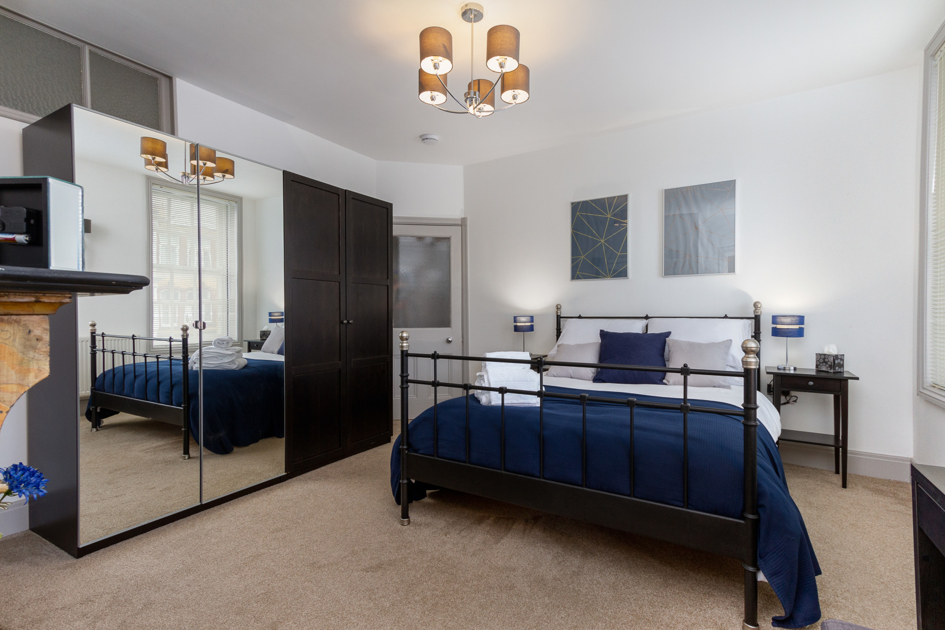Master bedroom with plenty of wardrobe space