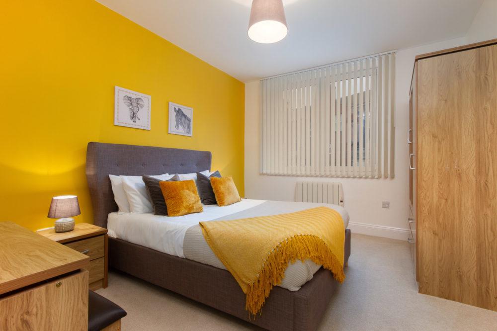 APT 4 Duckworth Bedroom