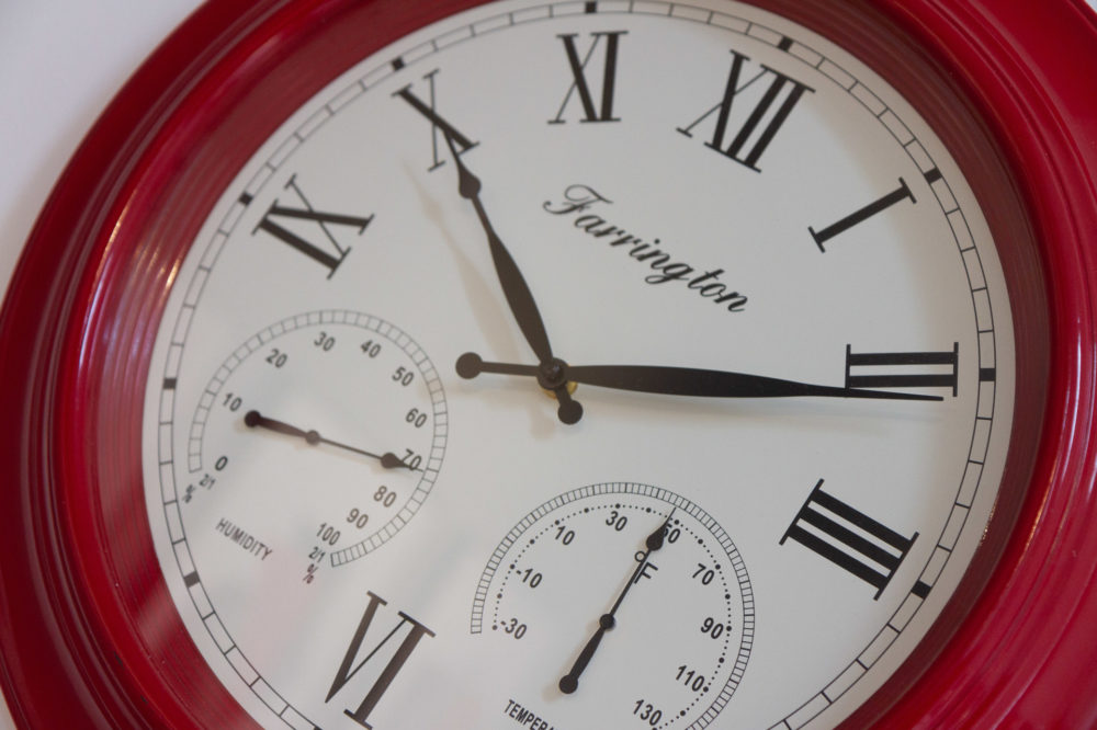 APT 5 Duckworth clock