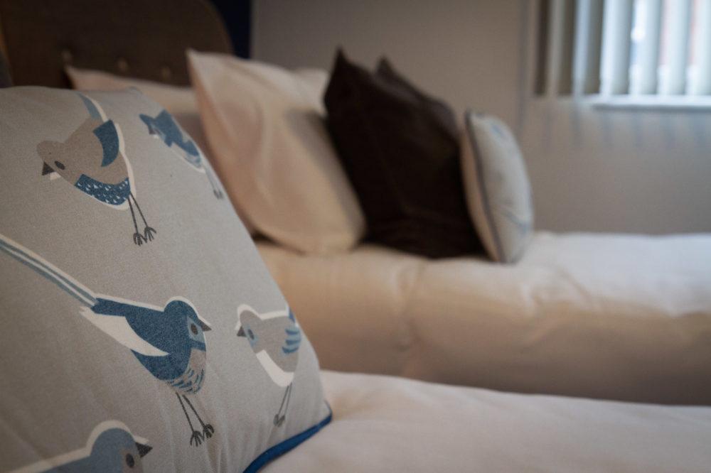 APT 5 Duckworth twin cushions