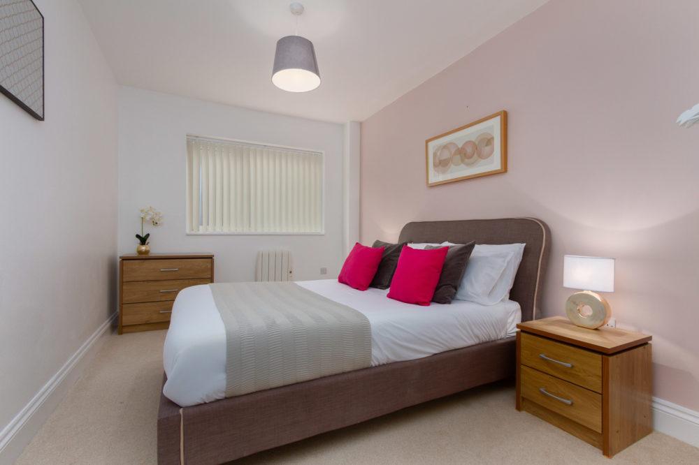 APT 6 Duckworth double bedroom view 2