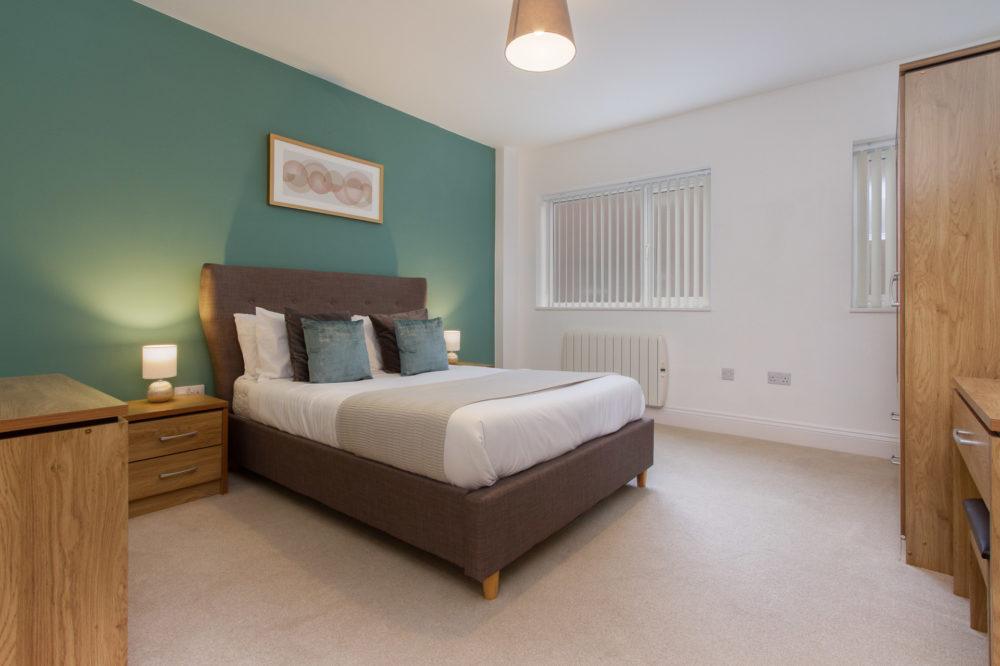 Apt 7 Duckworth bedroom