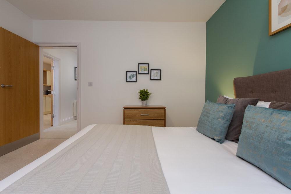 Apt 7 Duckworth bedroom to hallway
